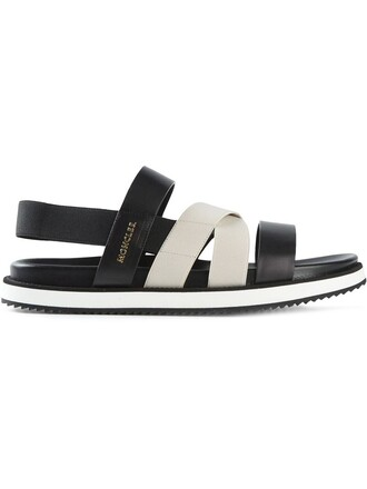 strappy sandals flat sandals black shoes