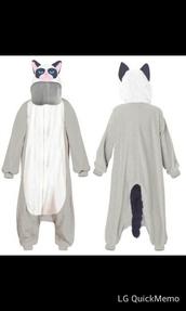 pajamas,grumpy cat,onesie