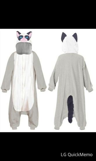 pajamas grumpy cat onesie