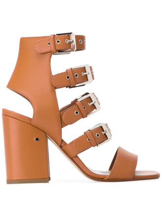 women sandals leather nude camel shoes