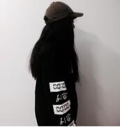 sweater,black