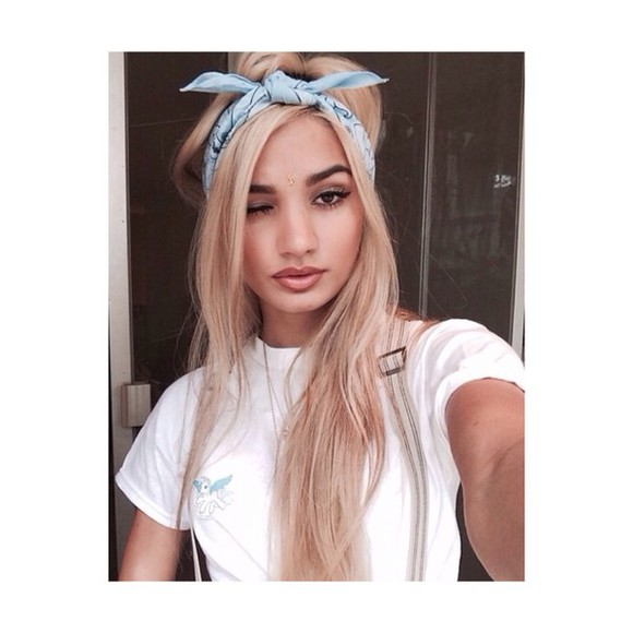 headband t-shirt top my little pony bandana pia mia perez