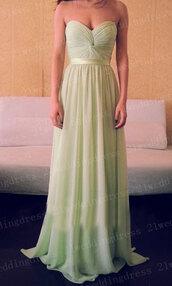 dress,long bridesmaid dress,sage dress,bridesmaid,long prom dress,mint,bling,long