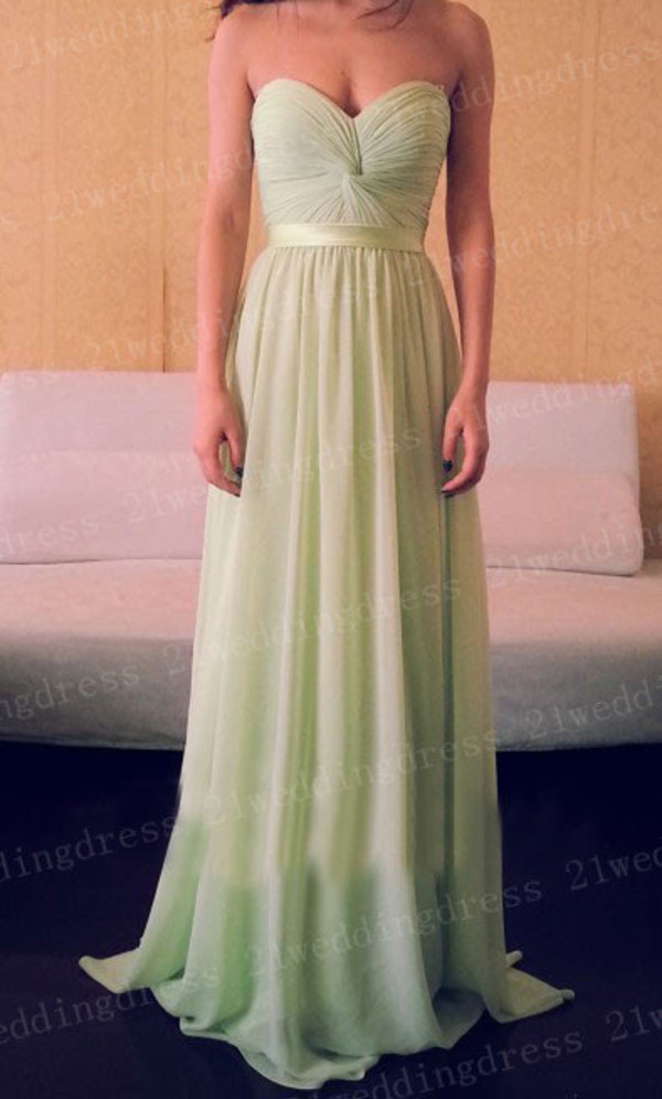 dress long bridesmaid dress sage dress bridesmaid long prom dress mint bling long bridesmaid