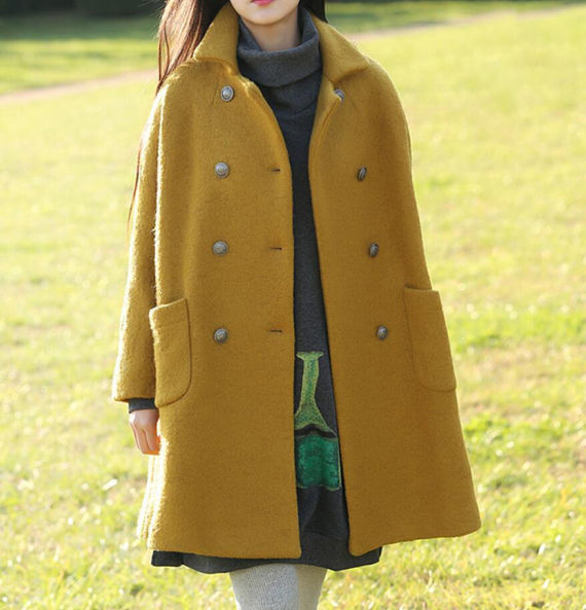 coat long overcoat