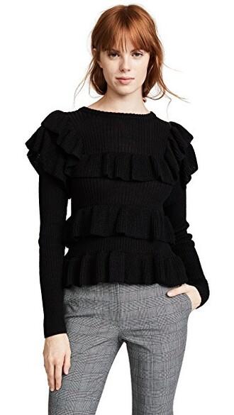 pullover noir sweater