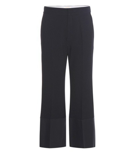 See By Chloé Cropped Trousers in blue