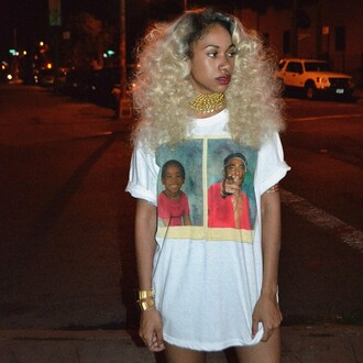 jewels tupac shirt 90s style tupac hip hop shirt t-shirt dress jeans hat style skirt hairstyles