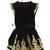 Elegant Embellish Gold Baroque Embroidery Velvet Mini Short Top & Skirt Set Suit | eBay