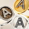 18ct gold and diamond alphabet rings