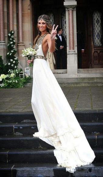 wedding dress wedding clothes boho hipster wedding