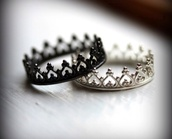 jewels,ring,silver ring,jewellry,pandora,queen,king,beautiful,crown