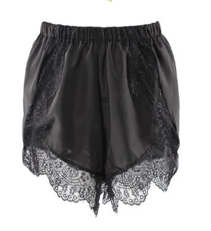 Stitching Lace Casual Hot Shorts