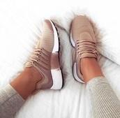 shoes,nike,beige