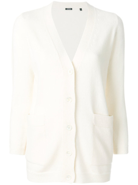 ASPESI cardigan cardigan women white wool sweater