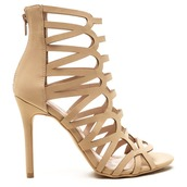 shoes,heels,nude,nude shoes,nude heels,cut out shoes,cut-out heels,cut-out