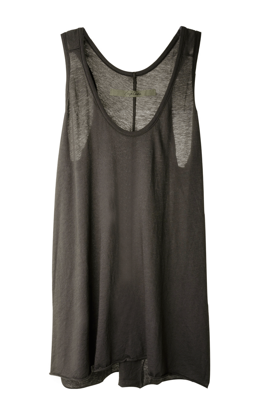 ENZA COSTA LOOSE Racer Lead Tank - CLOTHING | TOPS | PRET-A-BEAUTE.COM
