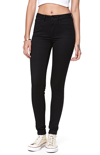 exclusive range big collection new product Bullhead Denim Co High Rise Black Jeggings at PacSun.com