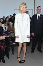 coat,fashion week 2015,sandals,platform shoes,sienna miller,shoes