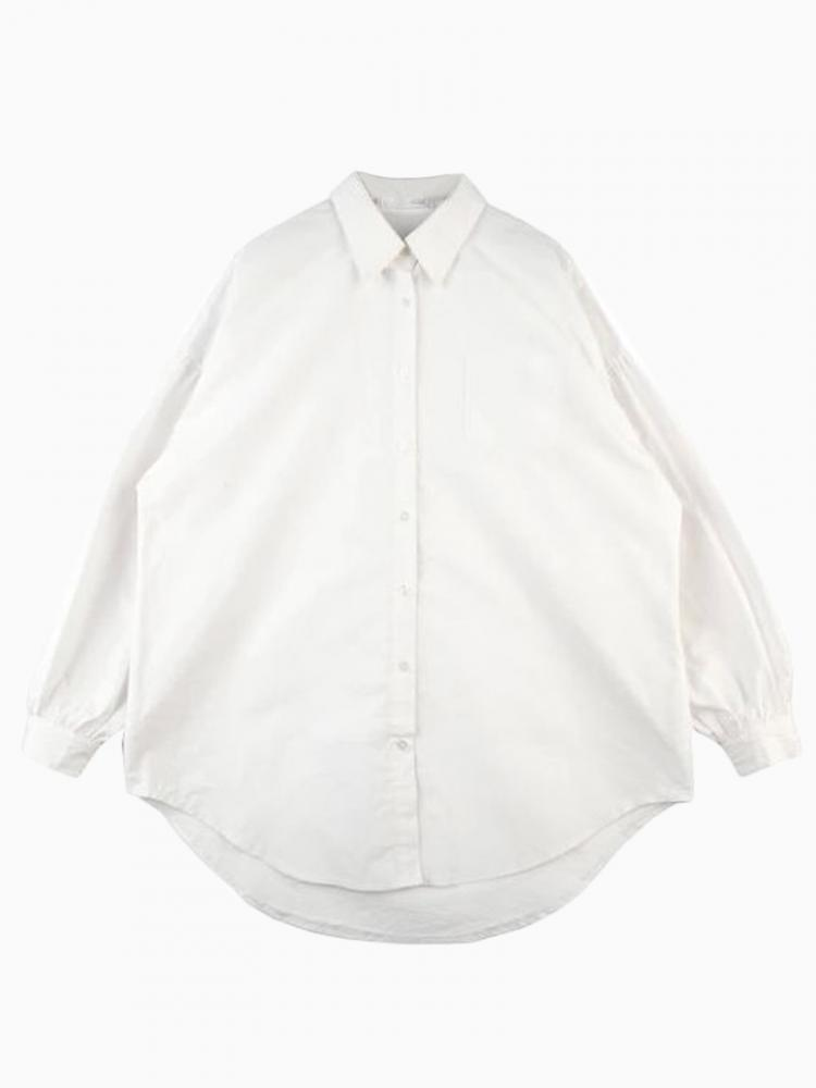 White Shirt With Cape Sleeve | Choies