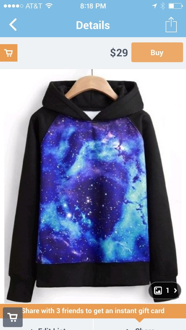 sweater hoodie galaxy hoodie space starry galaxy sweater