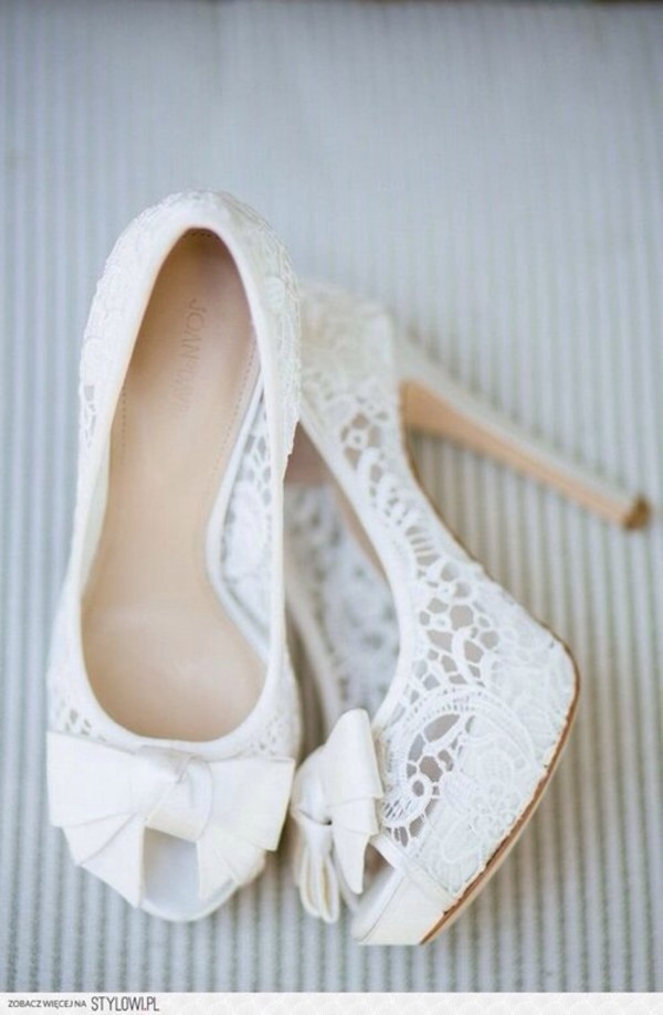 shoes high heels white white high heels wedding white. lace