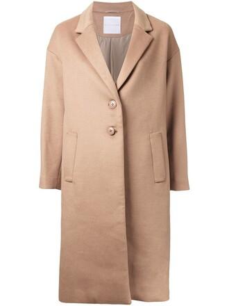 jacket women wool brown