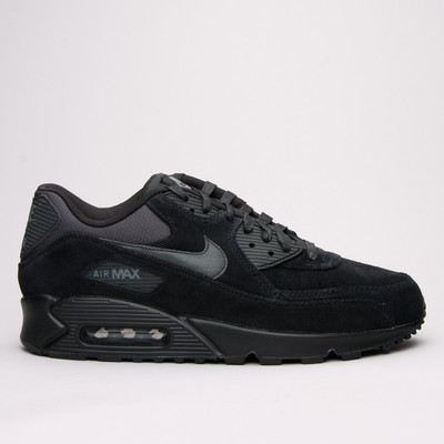 Nike Air Max 90 Premium Black/Black - Karltex