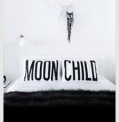 home accessory,bedding,pillow,white,black,boho decor,dreamcatcher