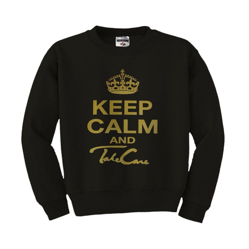 OVO Drake Keep Calm and Take Care OVOXO weeknd Sweatshirt Crewneck XO | eBay
