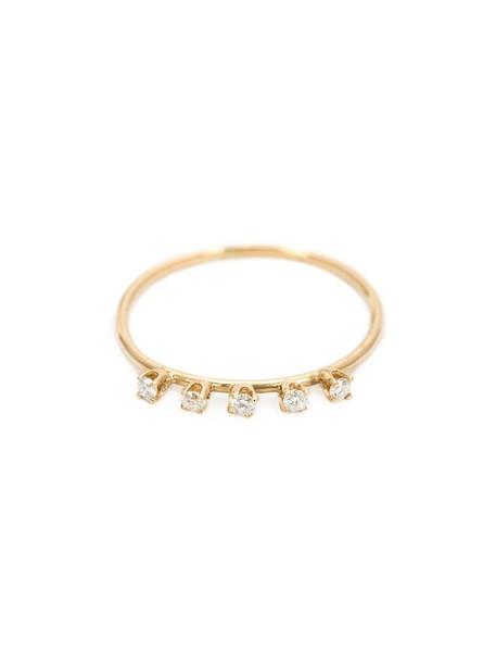 ring yellow orange jewels