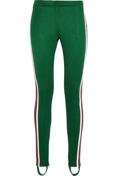 leggings dark green pants