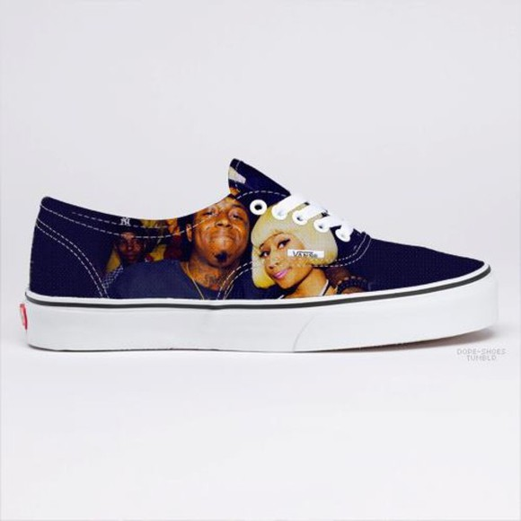 nicki minaj shoes lil wayne vans