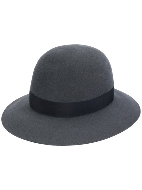 Borsalino women hat wool grey