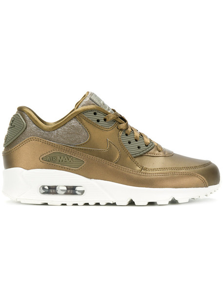 Nike - Air Max 90 sneakers - women - rubber/Leather/Polyester - 9, Green, rubber/Leather/Polyester
