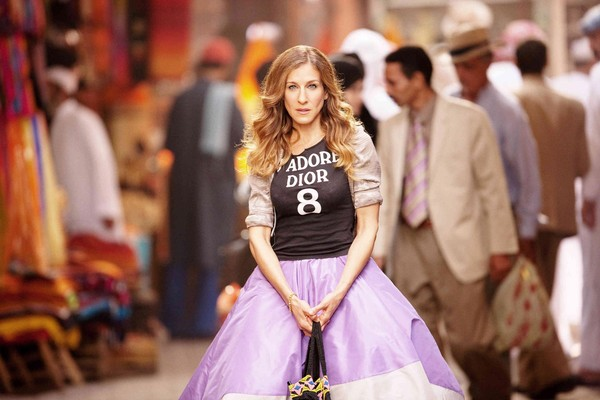 skirt sex and the city shirt sarah jessica parker carrie bradshaw