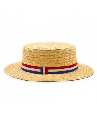 Sombrero de paja cinta francia