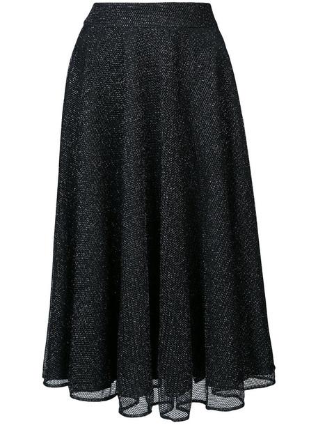 Patbo skirt midi skirt mesh women midi black