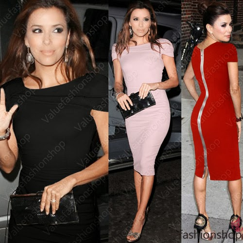 Women Celeb Party Wear to Work Evening Cotton Tunic Sheath Bodycon Pencil Dress | eBay