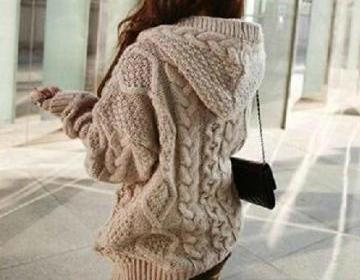 Cardigan sweater coat