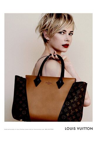 bag louis vuitton purse brown leather tan tote bag
