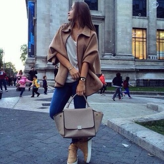 bag brown bag tumblr outfit perfect
