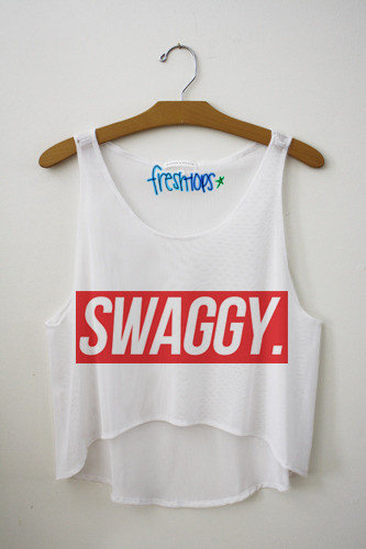Swaggy Crop Top | fresh-tops.com on Wanelo