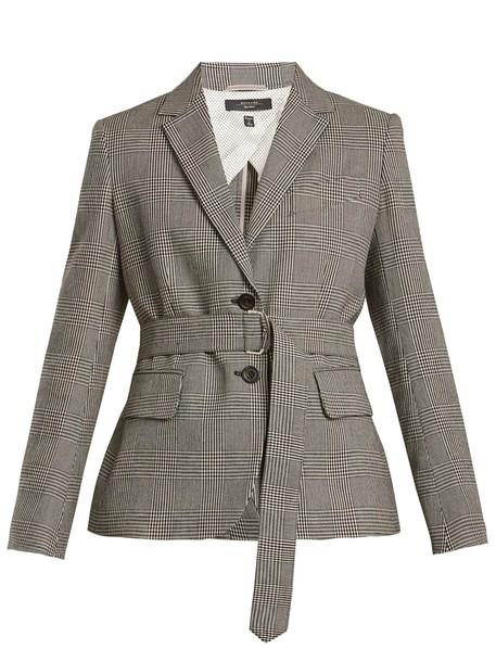 WEEKEND MAX MARA jacket white black
