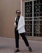 jacket,blazer,white blazer