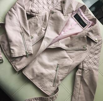 jacket leather jacket leather streetwear streetstyle street lookbook lookbook store beige jacket perfecto