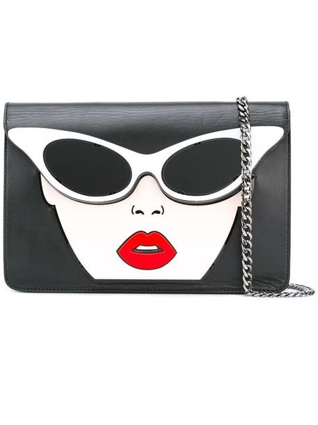 Yazbukey women bag crossbody bag leather black