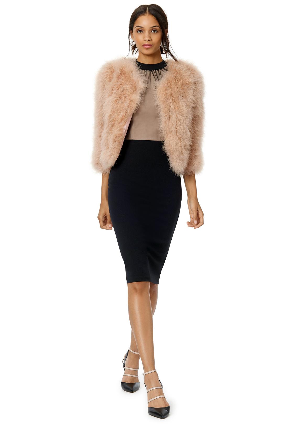 Jocelyn outerwear blushing glamour jacket