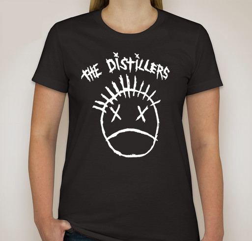 T47 Custom Women TShirt The Distillers T-Shirt  VTG Style Punk Rock - T-Shirts & Tank Tops