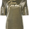 Vivienne westwood - open 24 hrs top - women - cotton/polyester - s, grey, cotton/polyester